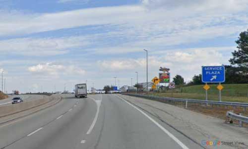pa i76 service center eastbound mile marker 112.3